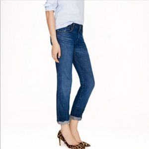 J. Crew Vintage Straight Blue Jeans 28 R Mid Rise